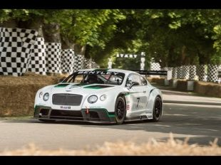 Bentley Continental GT3 au Goodwood Festival of Speed 2013
