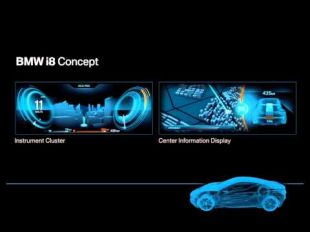BMW i8 Concept : Interface Design