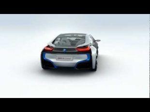 BMW i8 Concept vue à 360 degrés