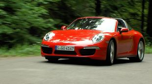 Essai : Porsche 911 Targa