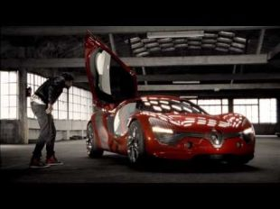 Vidéo Renault DeZir concept car - Essai