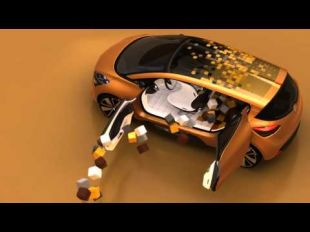 Renault R-Space concept car