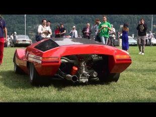 Fiat Abarth 2000 Scorpione à la Villa d'Este 2014