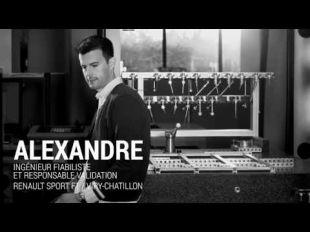 Vidéo Nicolas, Ingénieur Essai Moteur Renault F1 - Essai