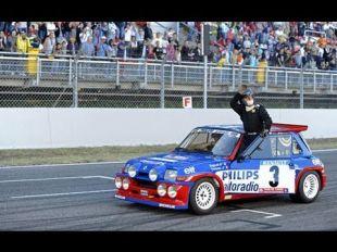 Renault Classic Show aux WSR de Spa-Francorchamps avec Jean Ragnotti et la parade Alpine