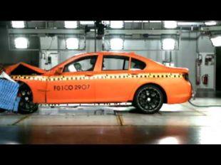 BMW 7 Series crashtest