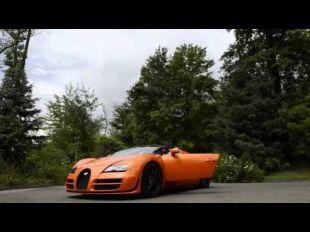 Vidéo Bugatti 16C Galibier concept 2009 - Essai