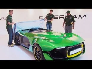 Vidéo Caterham AeroSeven Concept : genèse - Essai