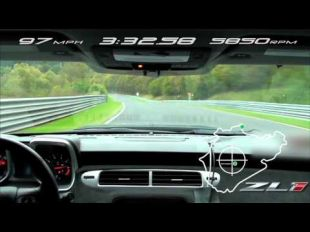 Chevrolet Camaro ZL1 sur le Nürburgring