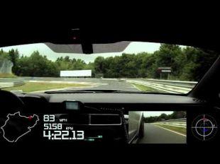 Vidéo Chevrolet Corvette C6 ZR1 sur le Nürburgring - Essai
