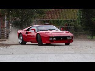 Ferrari 288 GTO tourmentée par l'équipe de TaxTheRich
