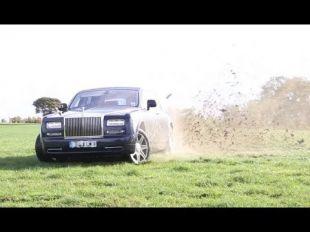 Rolls-Royce Phantom tourmentée par TaxTheRich
