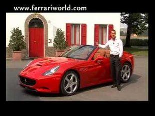 Vidéo Ferrari 430 Scuderia avec Michael Schumacher - Essai