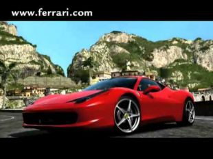 Forza Motorsport 3's tribute to Ferrari 458 Italia