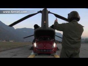Ferrari FF volant à 2350 mètres