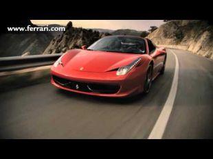Ferrari 458 Spider : vidéo officielle