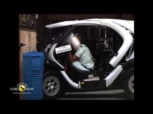 Euro NCAP Crash Test de la Renault Twizy 2014