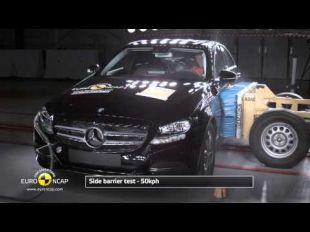 Euro NCAP Crash Test de la Mercedes Classe C 2014