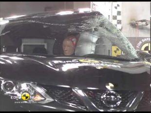 Euro NCAP crash test du Nissan Qashqai 2014
