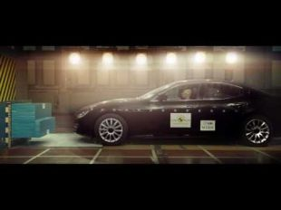 Euro NCAP crash test de la Maserati Ghibli