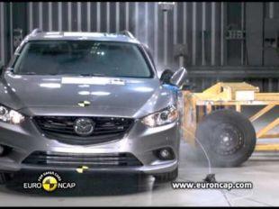 Euro NCAP Crash test de la Mazda 6 2013
