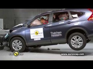 Euro NCAP Crash test du Honda CR-V 2013