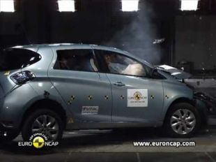 Euro NCAP Crash test de la Renault ZOE