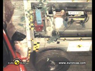 Euro NCAP Crash test de la Renault Clio 2012