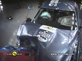Euro NCAP Crash test de la Jaguar XF 2011