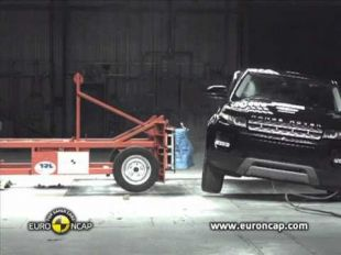 Euro NCAP Crash test du Range Rover Evoque 2011