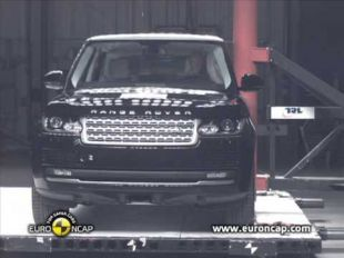 Euro NCAP Crash test du Range Rover 2012