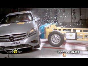 Euro NCAP Crash test de la Mercedes Classe A 2012