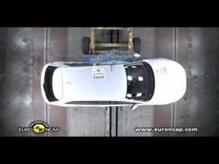 Vidéo Euro NCAP Crash test de la Mercedes Classe A 2012 - Essai