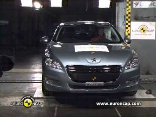 Euro NCAP Crash test de la Peugeot 508 2011