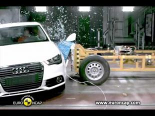 Euro NCAP Crash test de l'Audi A1 2010