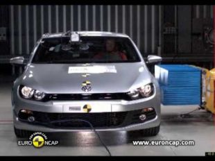 Euro NCAP Crash test du VW Scirocco 2009