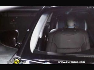 Euro NCAP Crash test de l'Infiniti FX 2009