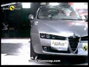 Euro NCAP Crash test Alfa Romeo 159 2006