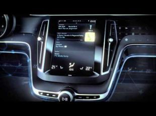 Volvo Concept Estate : interface conducteur