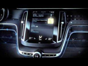 Volvo Concept Estate : interface conducteur