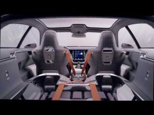 Vidéo Volvo Concept Estate : interface conducteur - Essai