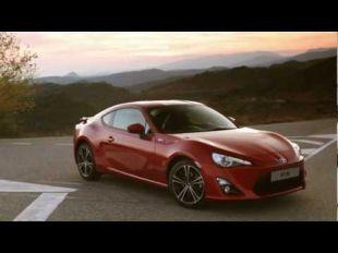 Toyota GT 86 rur les routes d'Espagne