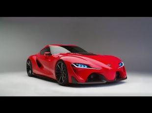 Toyota FT-1, revue de détails en studio