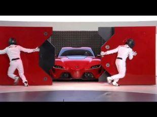 Salon : Toyota FT-1 : conférence de presse au salon de Detroit 2014