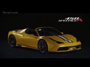 Ferrari 458 Speciale A  : vidéo officielle