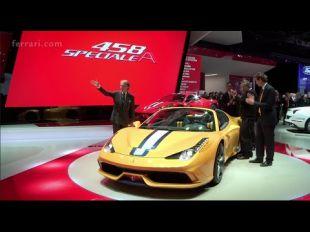 Vidéo Ferrari 458 Speciale A  : vidéo officielle - Essai