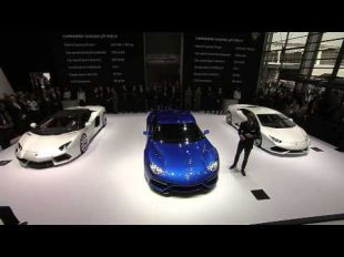 Salon : Lamborghini Asterion at Mondial de l'Automobile 2014
