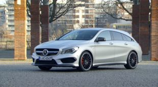 Essai : Mercedes CLA 45 AMG Shooting Brake