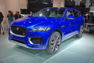 Salon : Jaguar F-Pace