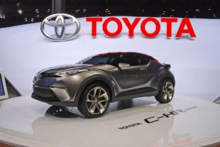 Salon : Toyota C-HR concept